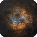 The Elephant Trunk Nebula, IC1396 in H,H+O,O,                                AstroPhotoRoss