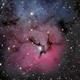 Messier 20 - The Trifid Nebula,                                Kevin Dixon