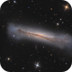 NGC3628 detail,                                tommy_nawratil