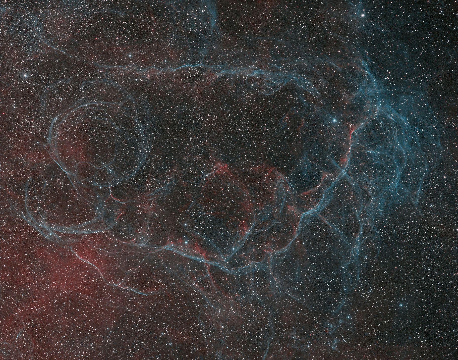 Vela SN Remnant HOO,                                Scotty Bishop