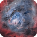Inside the Core of the Lagoon Nebula,                                Chuck's Astrophotography