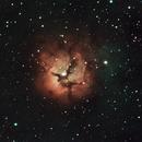 M20 - Trifid nebula,                                PINCELLA Claudio