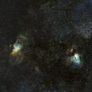 Eagle & Omega Nebulae,                                Jared Holloway