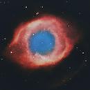 Helix Nebula (NGC 7293) in HOO,                                Chuck's Astrophotography