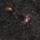 NGC 3576 y 3603,                                Cosmonauta