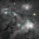 The Rho Ophiuchi Cloud Complex - 9 Panel Mosaic,                                Matt Harbison