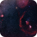 Orion with Barnard's Loop (Sh 2-276) and Rosette Nebula with H-Alpha,                                Mat