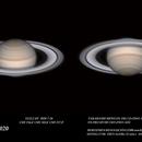 Saturno 2020-7-26  22:53,3 UT,                                ortzemuga