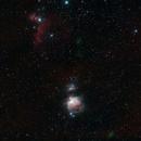 Orion and Horse Head nebulas,                                Jordi