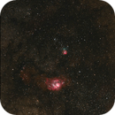 Nebulosas Laguna y Trifida,                                Pedro Asunción
