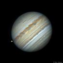 Jupiter and Io,                                Bruce Rohrlach