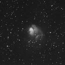 NGC 1931 in Auriga in Ha,                                Bob Scott