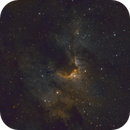 The Cave Nebula,                                Andrew Burwell