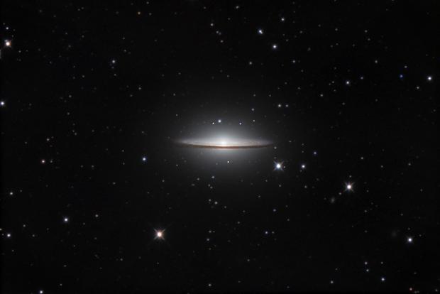 M104, Sombrero Galaxy,                                Juan Lozano