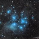 Messier 45's Dusty Neighborhood,                                Damien Cannane