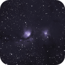 Messier 78  --  Halpha,                                Jean-Marie MESSINA