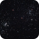 NGC869-NGC884 - Perseus Double Cluster - Eta and Chi Persei Clusters,                                andrea tasselli