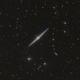 NGC 4565 with DSLR,                                Jenafan