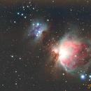 Orion M42,                                Pascal De Sanctis