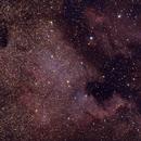 North America Nebula, Unguided, 16 minutes total exposure,                                Marco van der Kooij