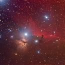 Horse and a Flame nebula,                                Zoltan Panik (ijanik)