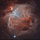 M42 - Orion Nebula HOO,                                Mike Hislope