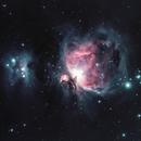 M42 Orion and Running Man Nebula,                                Carsten Eckhardt