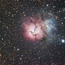 M20 Triffid Nebula,                                David Zuehlke