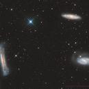 Leo Triplet,                                Pleiades Astropho...