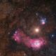 Mars Between Nebulas (M8 & M20),                                Sebastian Voltmer