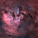 Cederblad 214 Part of NGC 7822 - Oct 2018 - Bicolor v1,                                Martin Junius