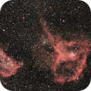 Heart and Soul Nebula Cassiopeia,                                Annette Sieggrön