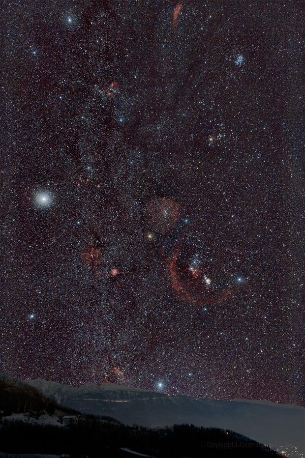 Voie lactée Orion sur Chamrousse,                                DominiqueJoubert