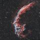 Ngc 6992- veil nebula HOO (version 1),                                astromat89