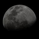 Crescent Moon, about 75%,                                FedericoCarolloAstrophoto