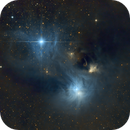 NGC6726 - Reflection Nebula in the Corona Australis,                                jlangston_astro