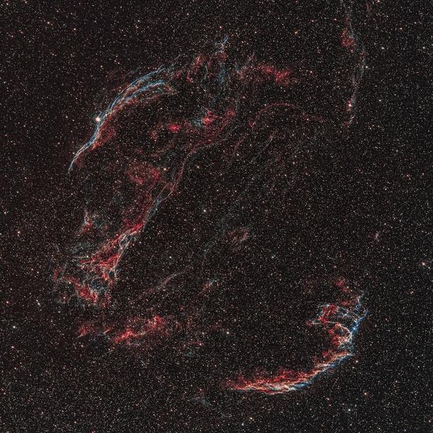 Veil Nebula,                                Alfred Leitgeb