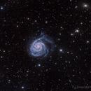 Pinwheel Galaxy - M101,                                DeepSkyView