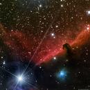 B33 / IC434 - The Horse's Head Nebula,                                AstroAdventures