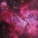 The Carina Nebula in LRGB,                                Astro_m