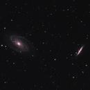 M81 and M82 crop,                                Marc Agostini