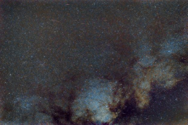 M11 M26 Milky Way Annotated in PixInsight,                                msmythers