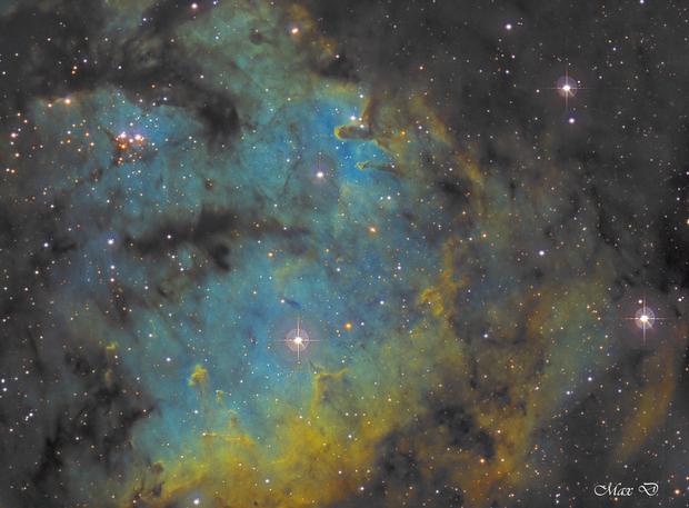 NGC7822 SHO,                                Spoutnik17