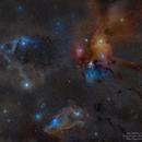 Rho Ophiuchus Widefield,                                Rogelio Bernal An...