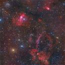 M52 - Bubble nebula and other,                                Piero Venturi