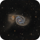 M51 - Combined data from AT115EDT and AT6RC,                                Mike Kline