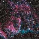 Veil Nebula detail, NGC6995 & IC340,                                Albert van Duin