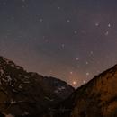 Untracked Rho Ophiuchi between mountains,                                Björn Hoffmann