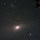 Andromeda Galaxy, M32 and M110,                                Valerio Campobasso