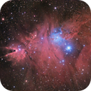 Christmas Tree Cluster and Cone Nebula,                                Andrew Marjama